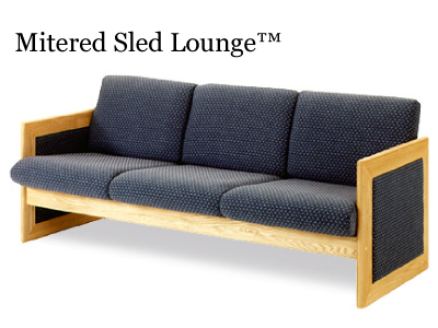 Mitered Sled Lounge