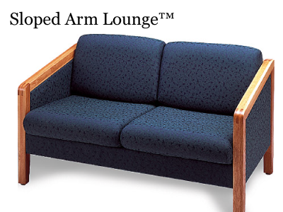 Sloped Arm Lounge
